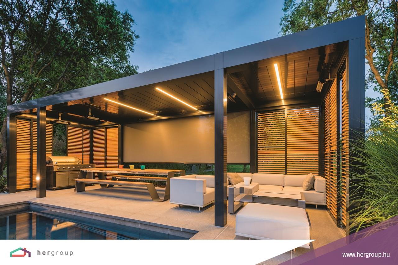 Bemutatkozik a RENSON Algarve® árnyékolórendszer